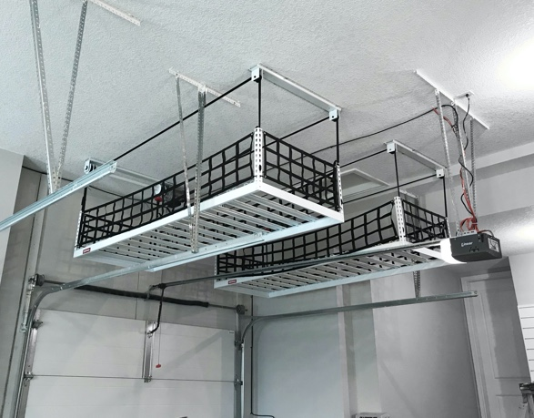 Motorized Overhead Storage Racks (Onrax™)